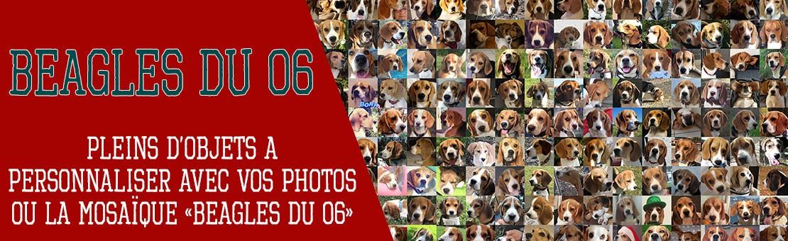Pleins d'objets personnalisés de Beagles